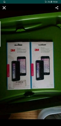(2) 3M Privacy Screen Protectors for Apple iPhone  Tinicum Township