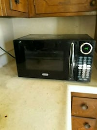 black and gray microwave oven 2262 mi