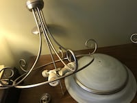 Large and small light fixture  Barrie, L4M 6V3