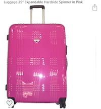 """Transworld 29"""" expandable spinner luggage."""