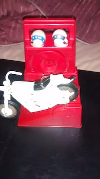 1970 Evil Kanevil toy motorcycle winder and helmets Toronto, ON, Canada