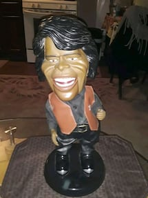 VINTAGE RARE JAMES BROWN BATTERY OPERATED FIGURE