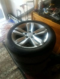 2010 Nissan Altima wheels and tires Hagerstown, 21740