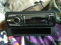 black 1-DIN car stereo head unit Carrollton, 30117