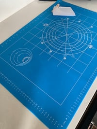 Silicone Baking Mats with Measurements, Large Full Size 24 x 16 Inch
