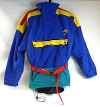 The North Face Extreme Jacket Pullover w/Hood & Belt (S) *RARE COLOR BLOCK*