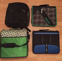Four assorted color sling  bags North Vancouver, V7K 2H4