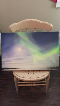Northern Lights Canvas Painting  Orillia, L3V 3M4