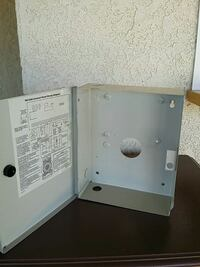 METAL SECURITY CONTROL BOX