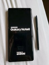 Samsung Galaxy Note 8 for sale; colour Black