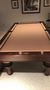 brown and black billiard table Gaithersburg, 20879