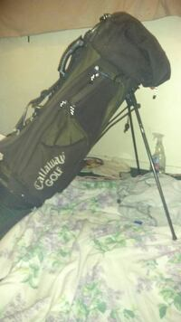Calloway Golf Bag With backpack straps and a stand