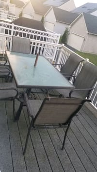 Patio set with 6 chairs Laurel, 20707
