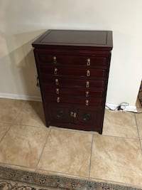 Rosewood silverware chest Dover, 19904