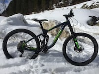 Enduro full suspension bike for sale VANCOUVER
