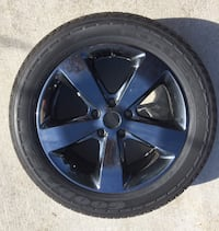 1 Wheel & Good Year Fortera Tire 265/50R20 off of a Jeep Roseville, 48066
