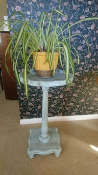 Blue Distressed Plant Stand  Bethesda, 20814