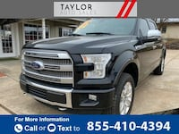 2016 Ford F150 Platinum 4x4 4dr SuperCrew 5.5 ft. SB pickup Black