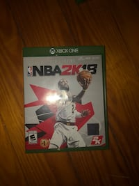 NBA 2K18 Xbox One game case Bethlehem, 18017