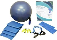 New Technomedic Exercise/Fitness Kit Model TM-7003 Milton