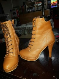 Size 9 high heel boots