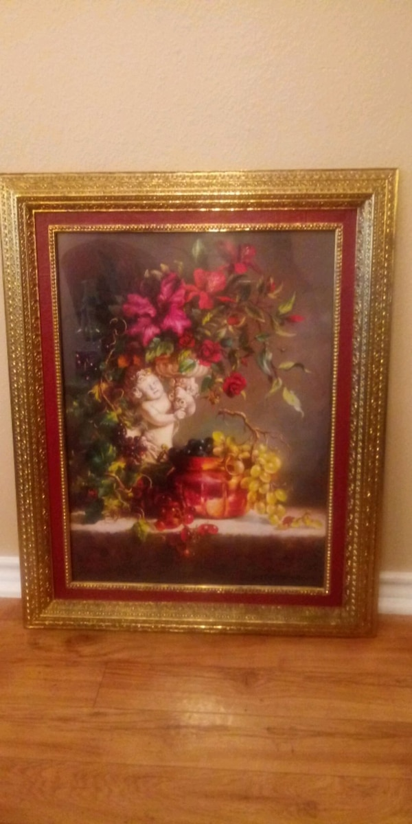 Home Interiors Angel Frame25inx31in