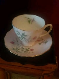 Cololough Bone China Teacup and Saucer Calgary, T2Y 2W5
