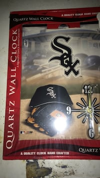 Brand new white Sox clock  Grand Rapids, 49507