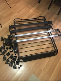 black and gray metal bed frame 31 km