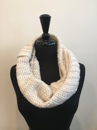 New cream Coloured eternity scarf