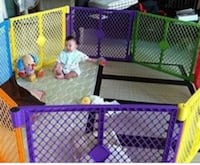 toddler's assorted-color plastic playpen Johnson City, 37601