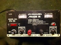 pyramid phase 3 precision regulated dc power suppl