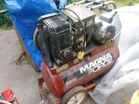 red and black Magna Force air compressor Sutter, 95982