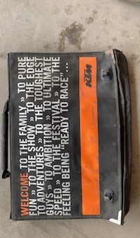 KTM Accessory bag and Tool kit