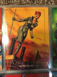 Marvel Black widow trading card Cashmere, 98815