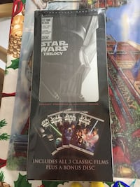 Star Wars 3 disc DVD