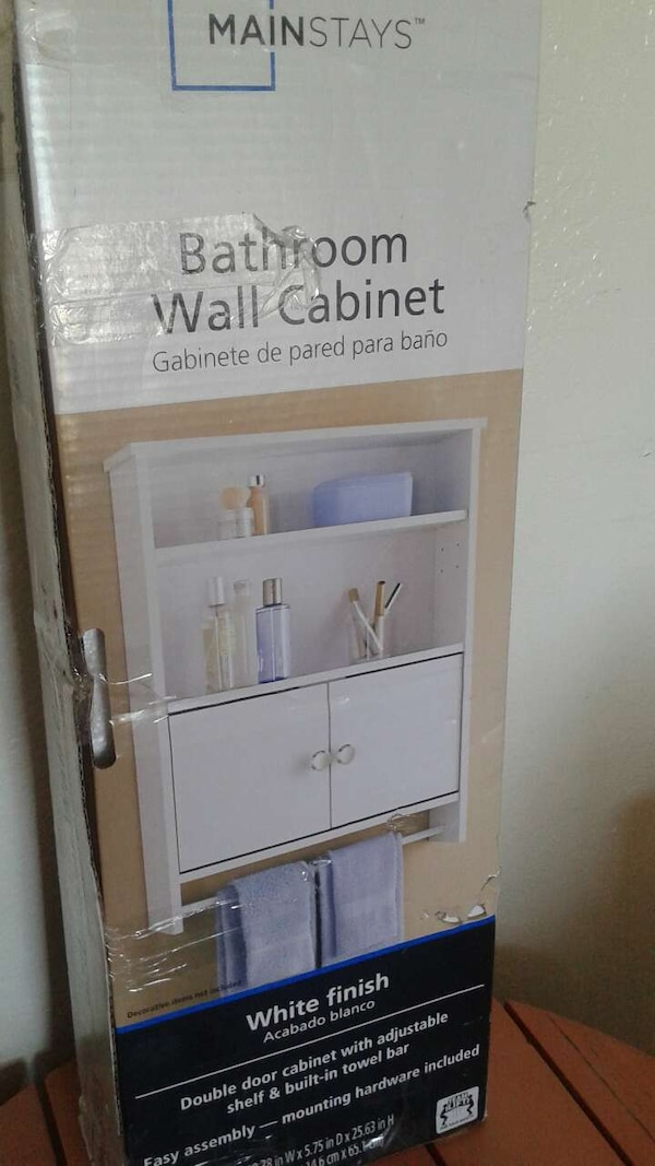 715e524d699 Used Mainstays bathroom wall cabinet for sale in Brownsville - letgo
