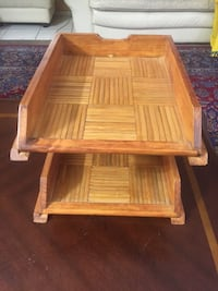 Vintage Wooden Two Tier Letter/File Tray Moreno Valley, 92557