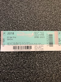 two white and black tickets Frederick, 21704