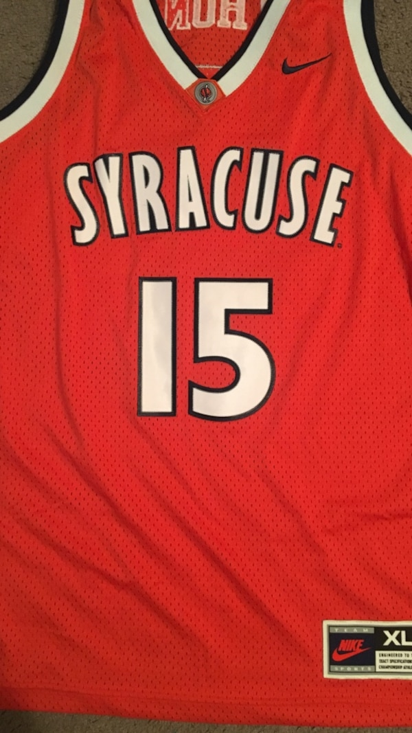 sneakers for cheap 59cff 53ea7 Carmelo Anthony Syracuse jersey XL