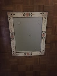 white wooden framed wall mirror Chevy Chase, 20814
