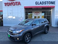 2016 Toyota Highlander XLE V6 Leather Seats SUV Navigation Sunroof GLADSTONE, 97027