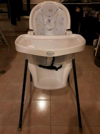 baby's white and gray high chair Vaughan, L6A