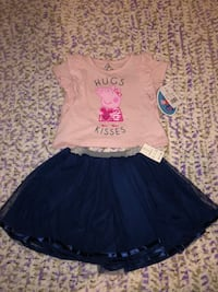 3t Peppa pig  girl's Outfit Norton, 44203