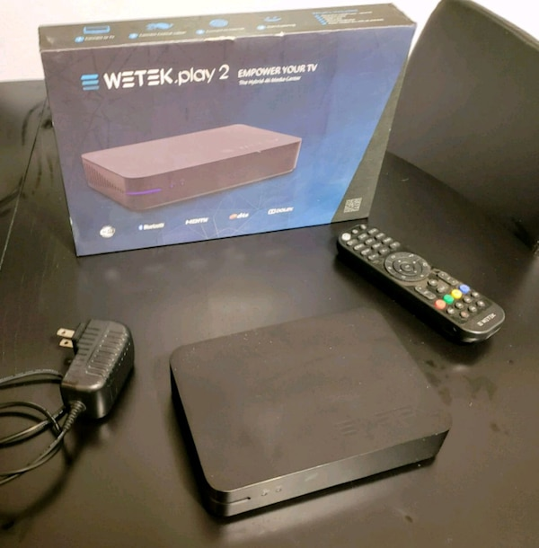 Wetek play 2 android tv box w/ tuner