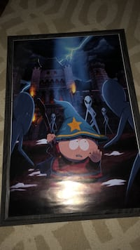 South Park Poster with Frame New Fairfield, 06812