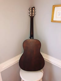 Pink First Act MG318 Acoustic Guitar