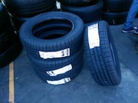 four black rubber car tires Santa Fe Springs, 90670
