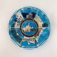 "VINTAGE DISNEYLAND ""SLEEPING BEAUTY'S CASTLE"" ASH TRAY/CANDY DISH Vancouver, V5T 3G6"
