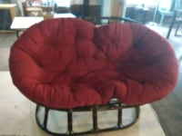 red and black moon chair Chardon, 44024